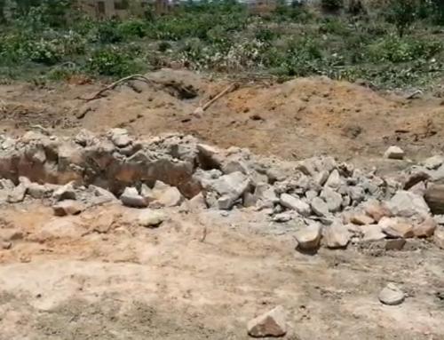 Destruction des infrastructures de la Nécropole Rivière des Anges
